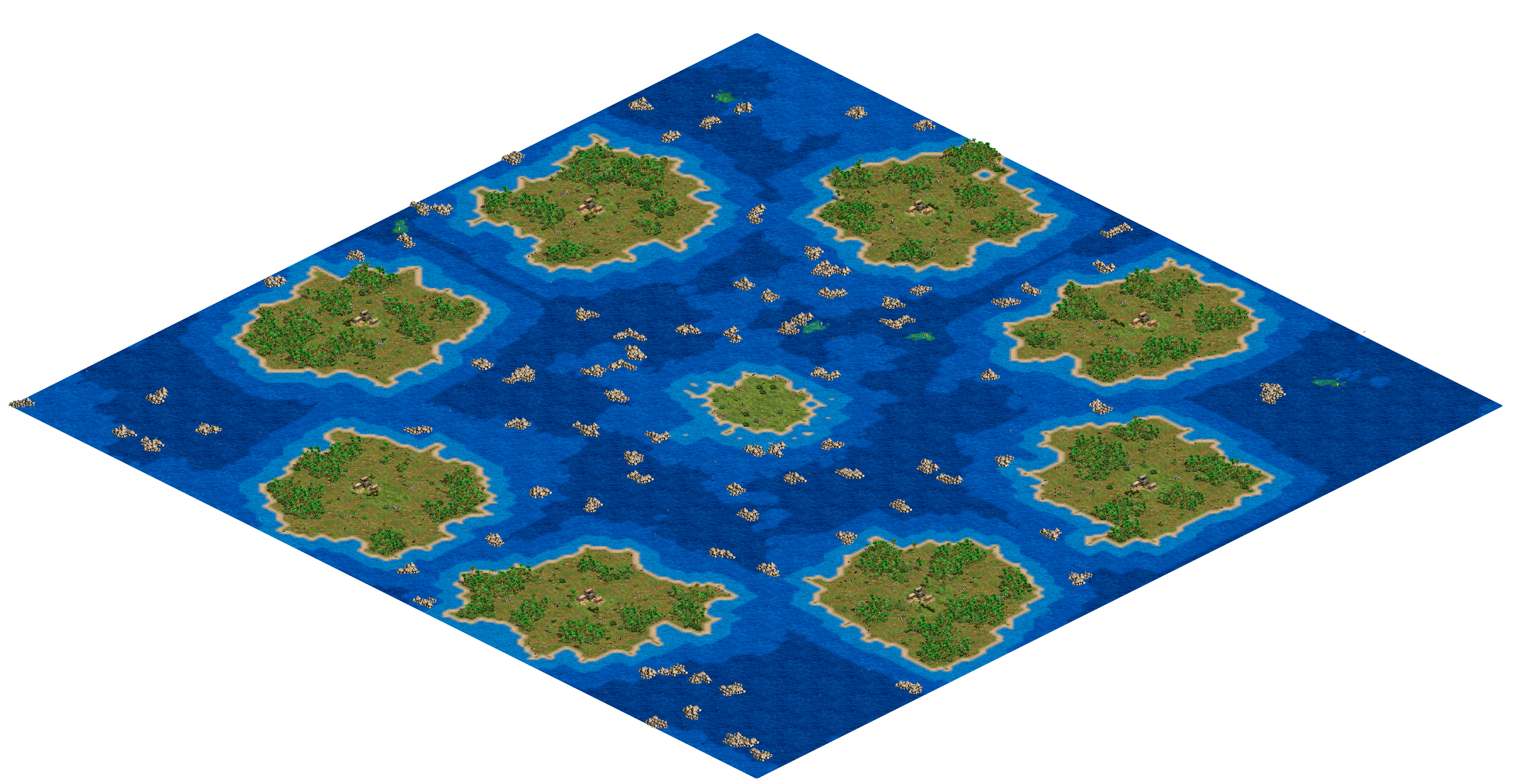 Jungle Isles - 8 Player Map.png