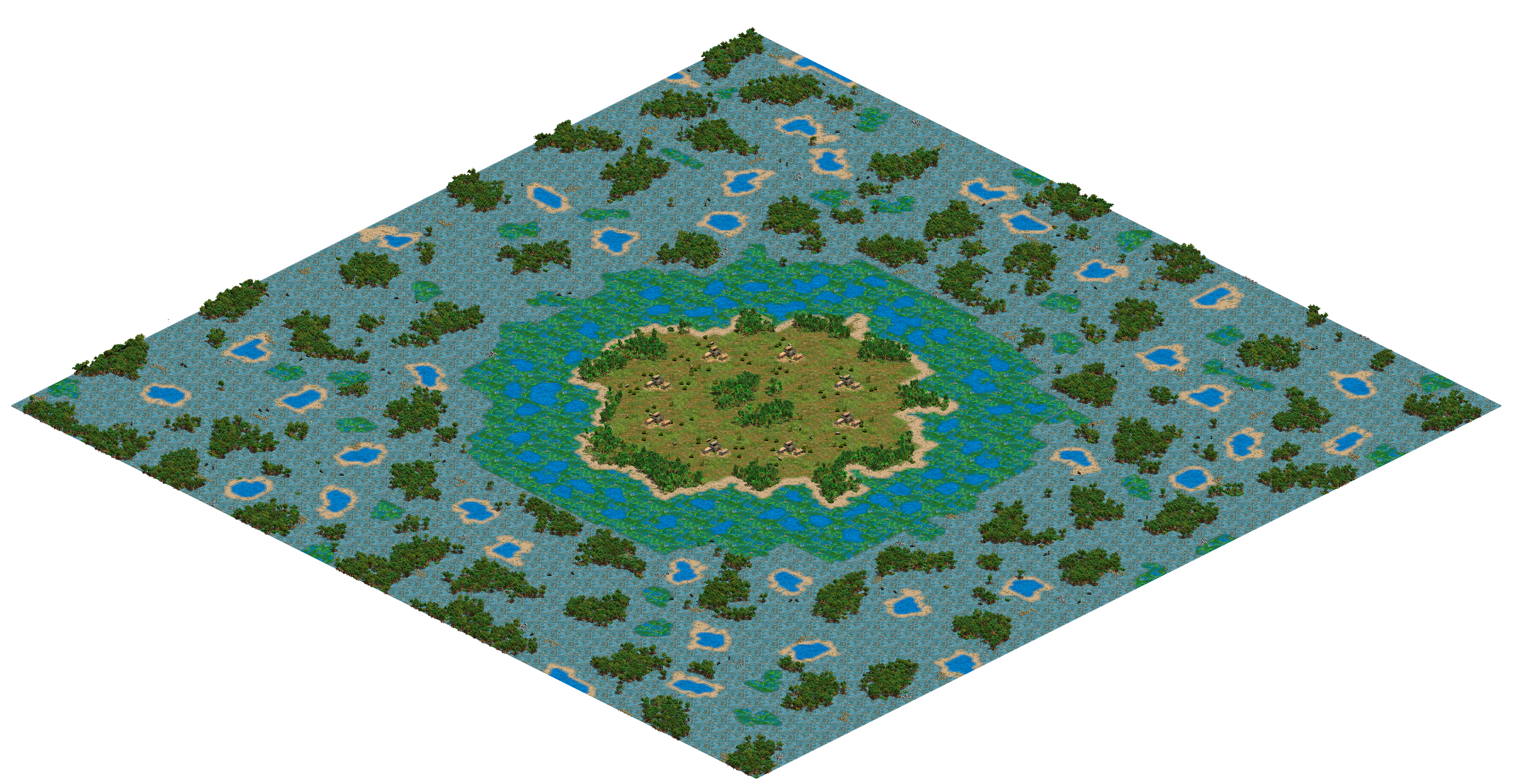 Swamp Fever - 8 Player Map.png